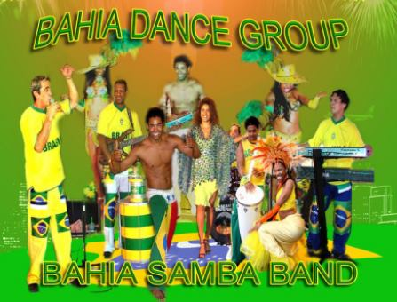 Live Band Bahia Dance Group - Samba2000 Brasilien